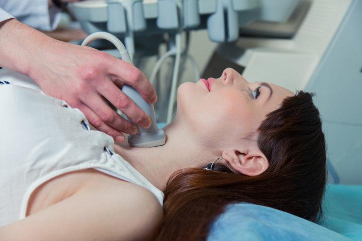Как проверить увеличена ли щитовидная железа