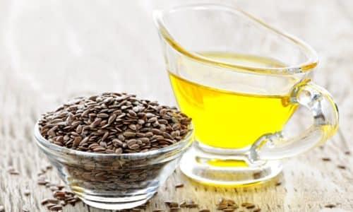 Масло из семян льна широко распространено среди народных средств от геморроя
